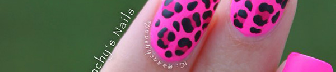 Pink with leopard nail-16