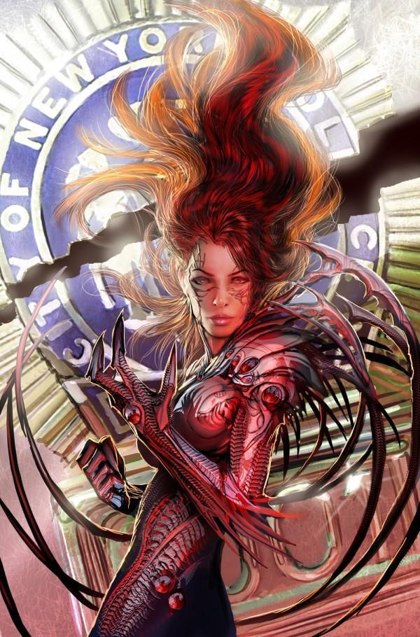 witchblade tpb 7 cover