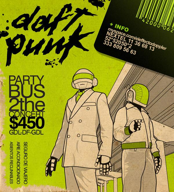 30 Artworks Inspired by Daft Punk | Art and Design