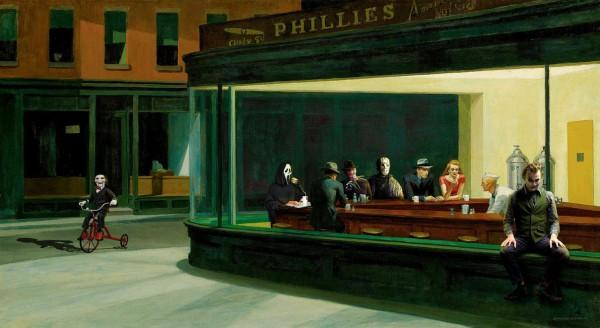 Hopper's horror bar