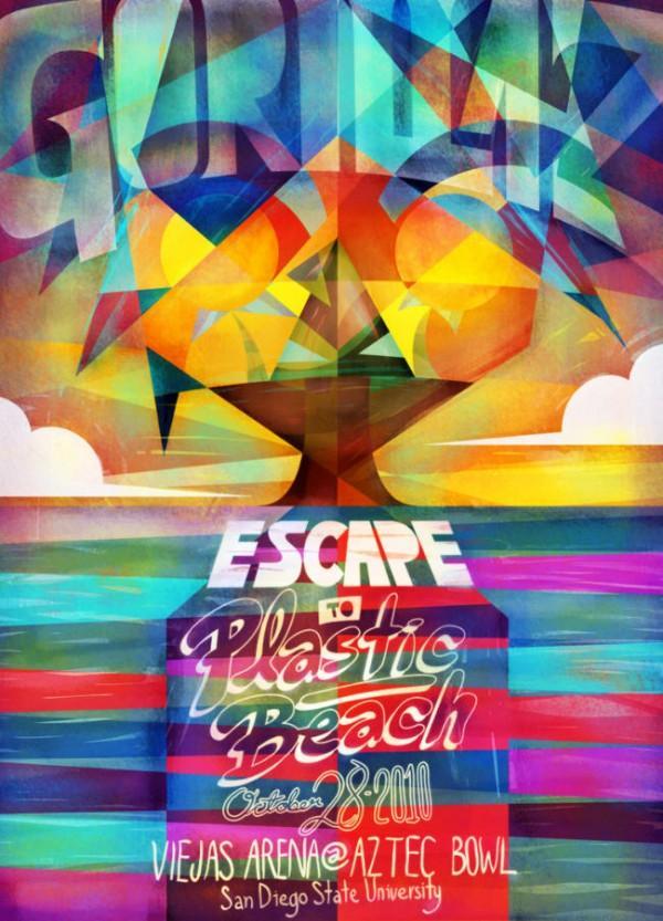 escape to fake poster