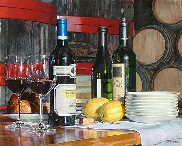 at winery
