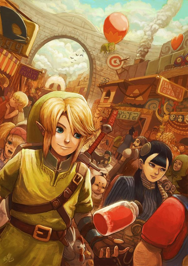 the city of hyrule