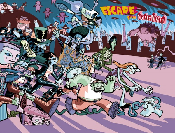 escape from dullsville cover