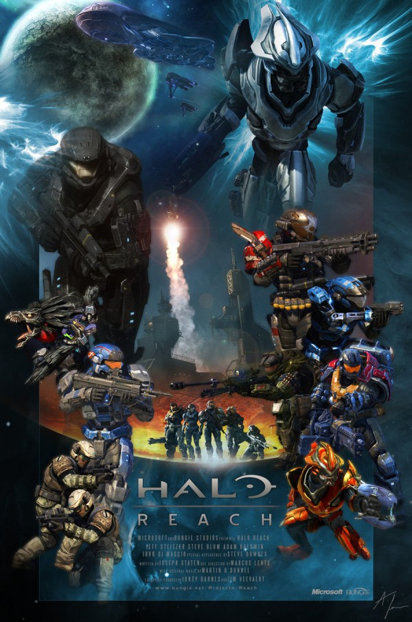halo reach theatrical poster