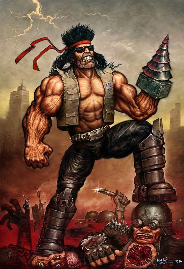 the drillwarrior