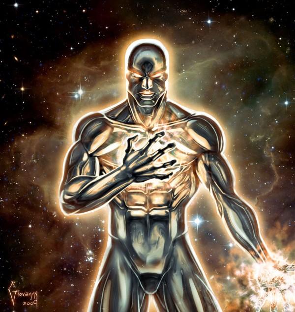 cosmic silver surfer