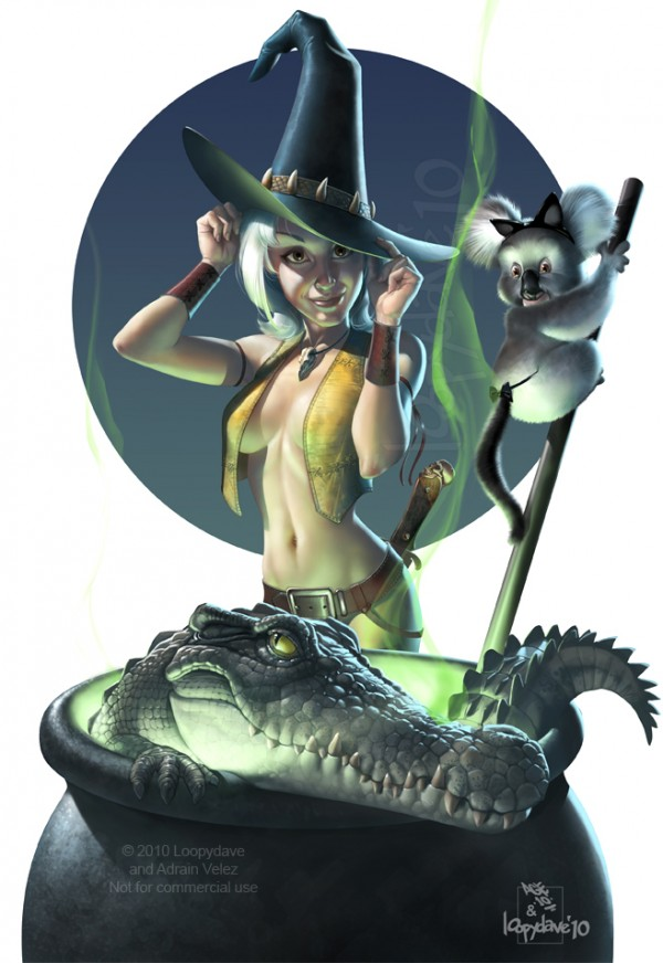 outback witch
