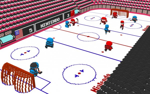 nintendo ice hockey