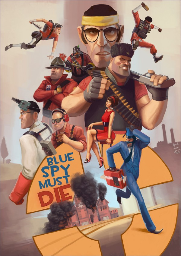 blue spy must die