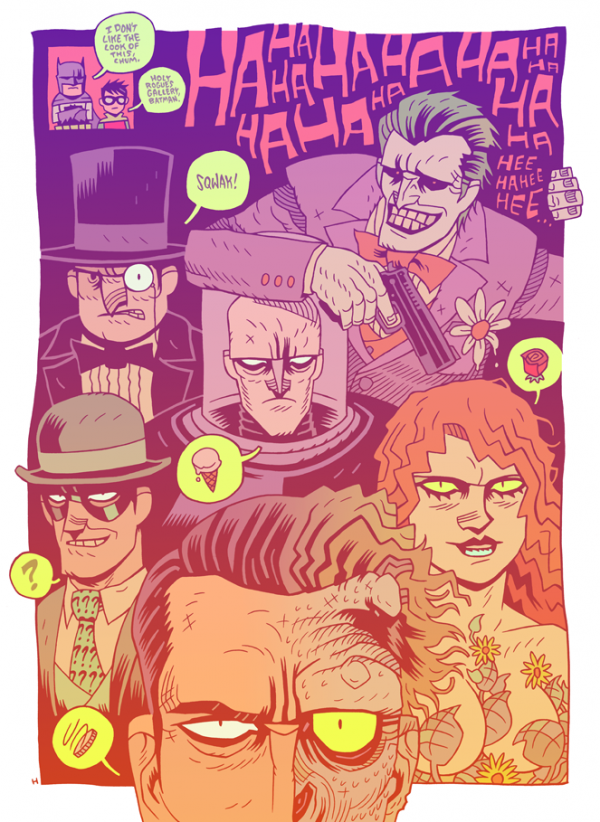 batman rogues