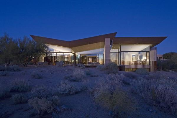desert wing house