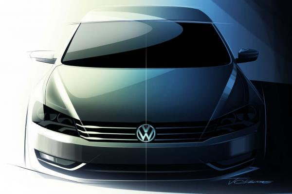 2012 Volkswagen New Midsize Sedan