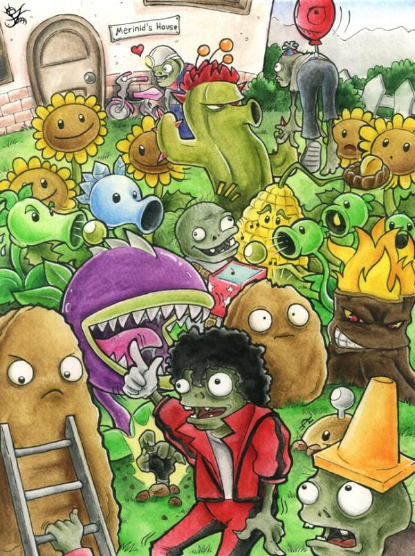 Imagenes plantas vs zombies