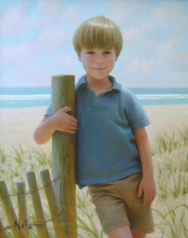 Painted Portrait Artists Portrait Figure Painting