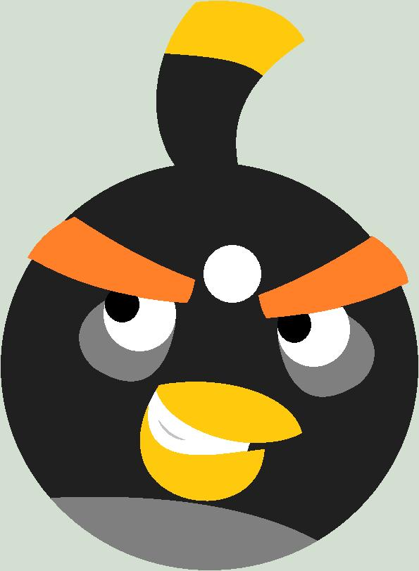 angry bird black bird. Black Bedroom Furniture Sets. Home Design Ideas