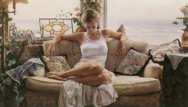 水彩画中最美的妇人 - 08062788 - 08062788的博客