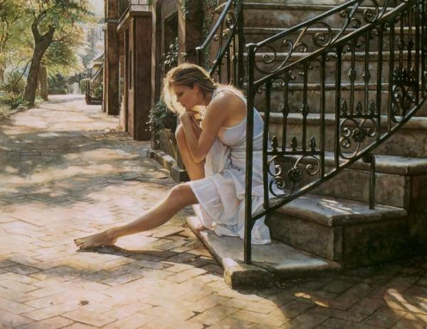 Amazing Watercolor Paintings by Steve Hanks