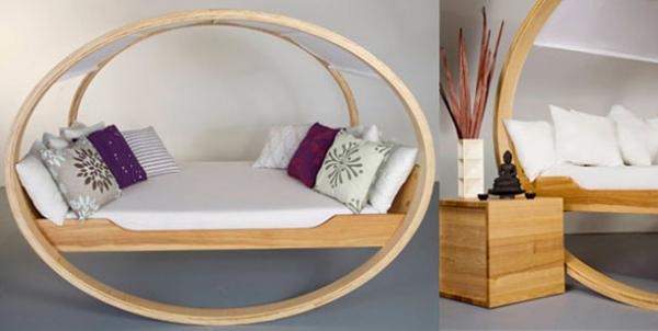 Rocking Bed - Private Cloud | Art and Design