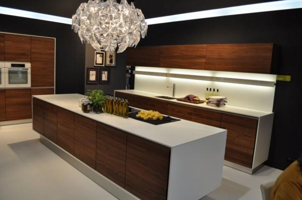 34 Modern Kitchen Designs  Art and Design -> Kuchnia Z Wyspą Akwarium
