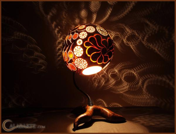 Amazing Exotic Gourd Lamps from Calabarte Art and Design