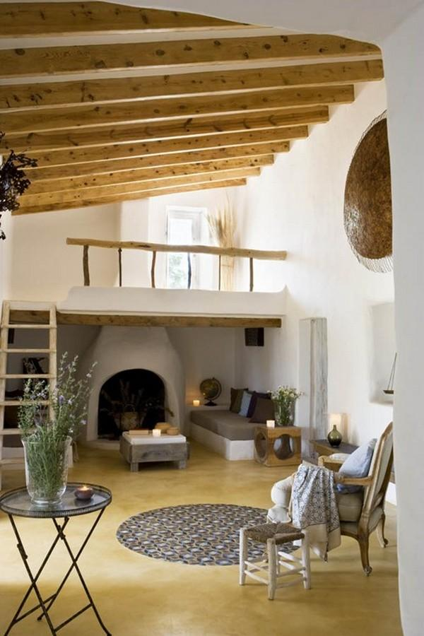 traditional interiors in a spanish island home art and