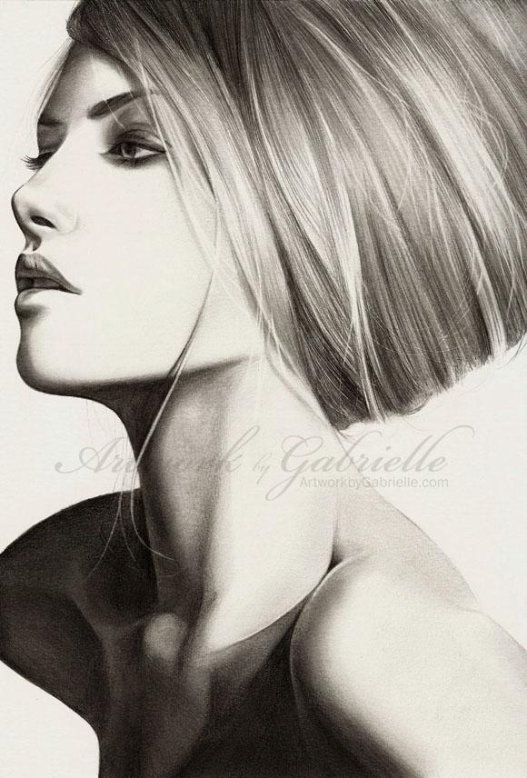 Beehive - Portrait Illustrations by Gabrielle  <3 <3