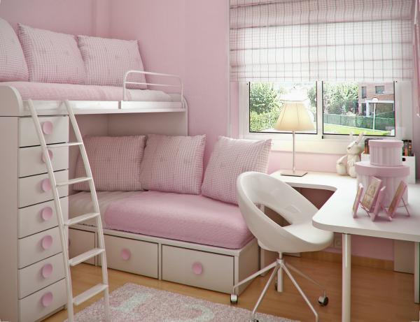 室内设计:青少年房间