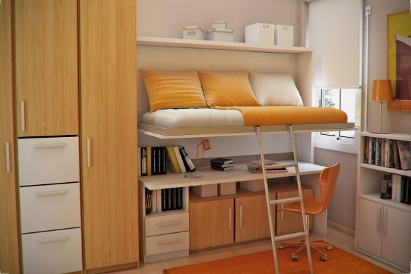 室內設計:青少年房間
