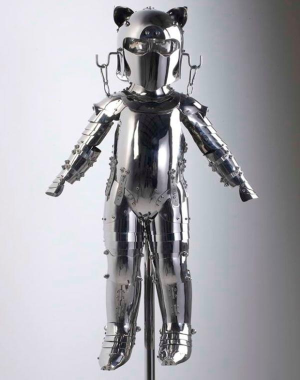 полный armormouse - Нержавеющая сталь скульптуры Ши Цзиньсун <3 !