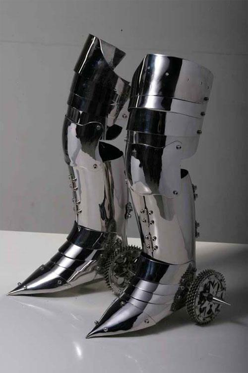 нэ чжа ролика лезвия - Нержавеющая сталь скульптуры Ши Цзиньсун <3 !