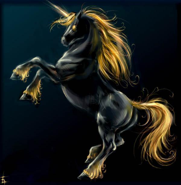 unicorn horse 3d digital - photo #9