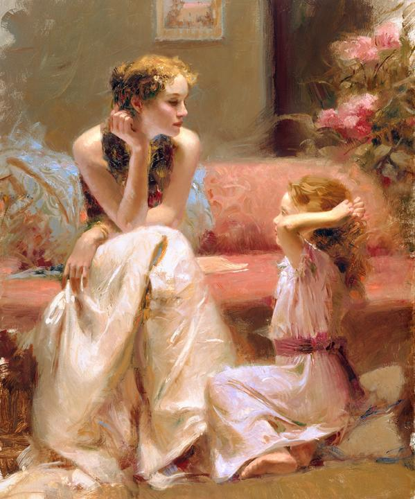Beautiful Paintings by Pino Daeni  Art and Design