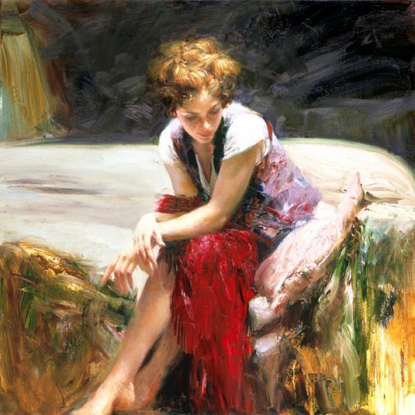 美丽的画-画布,怀旧,爱情和家庭 - 08062788 - 08062788的博客
