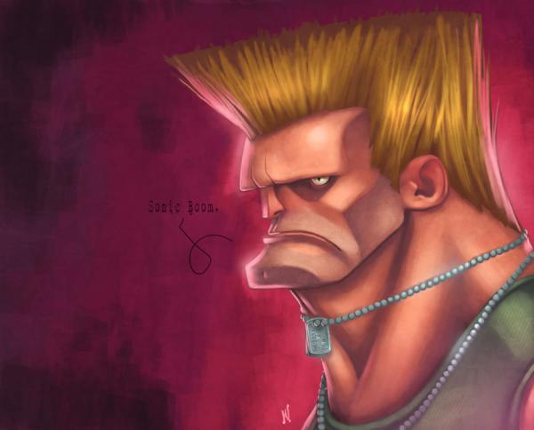 Arte Street Fighter Guile_with_a_smile600_484