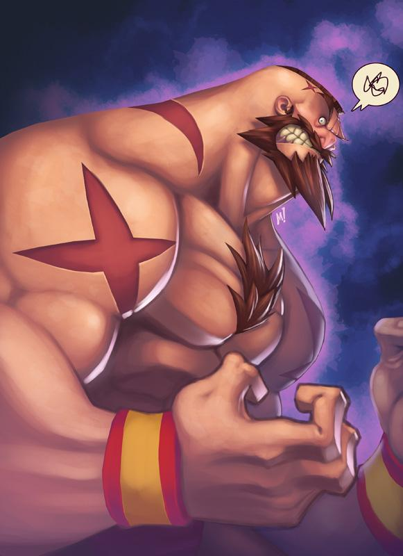 Arte Street Fighter The_red_cyclone__zangief581_800