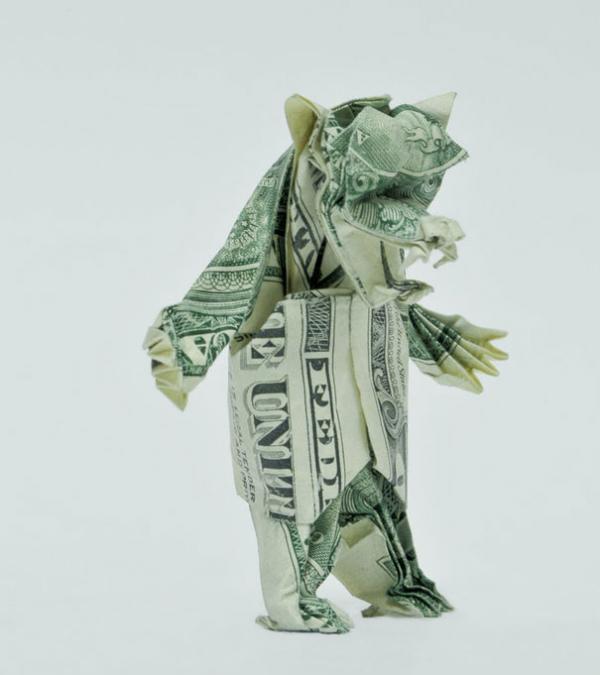 Hawaiian Money Dollar Origami Fold Aloha Shirt 2 Gift | eBay | 675x600