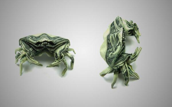 Dollar Origami By Won Park Art And Design