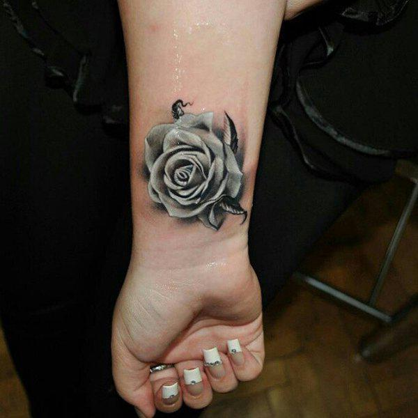 120 meaningful rose tattoo designs art and design rose tattoo mightylinksfo Image collections