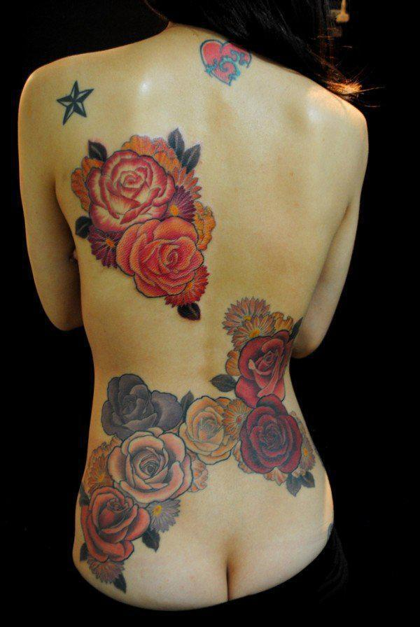07768135db345 Roses Gakkin tattoo, Kyoto ,Japan - Tattoos have served as rites of  passage, ...
