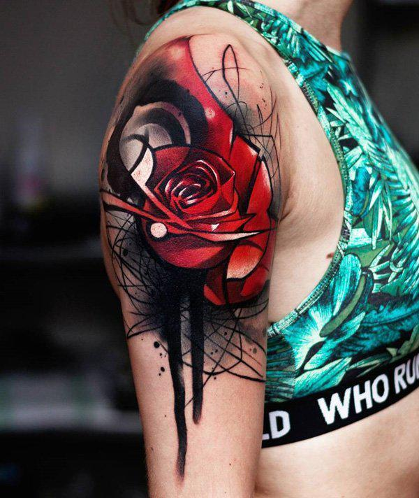 beautiful-rose-tattoo-108