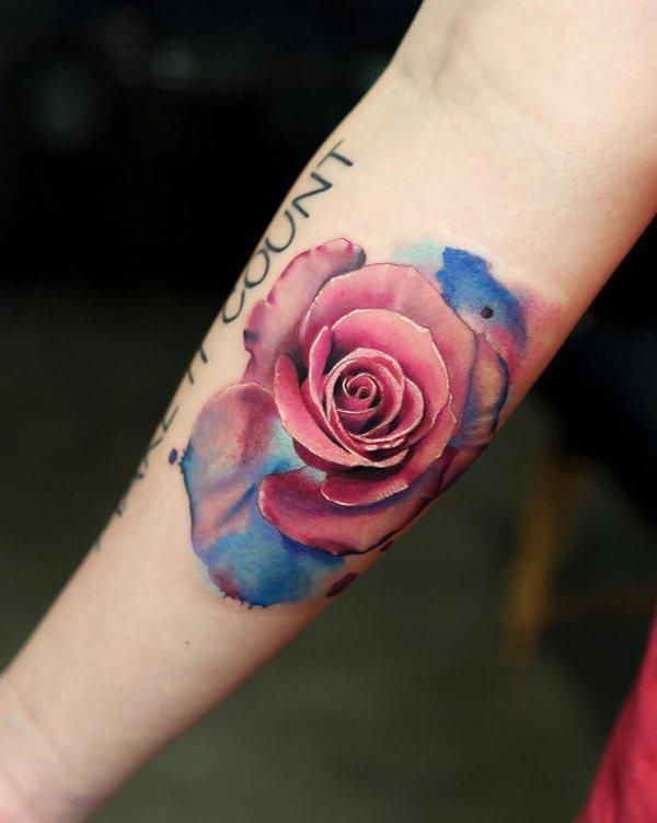 colored-rose-tattoo-106