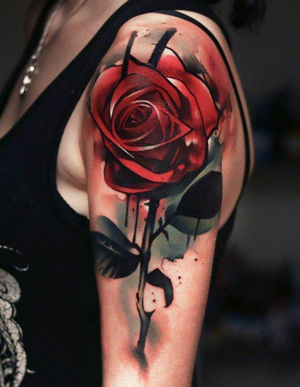 red-rose-sleeve-tattoo-88