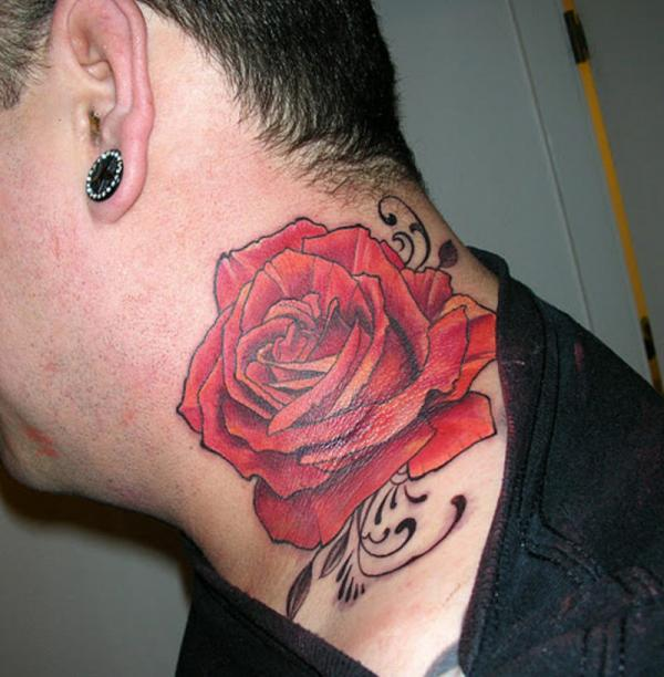 413bac6c8de38 My rose - Color rose on the neck is also a popular choice among fans of ...