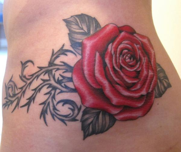 50+ Meaningful Rose Tattoo Designs | Art and Design