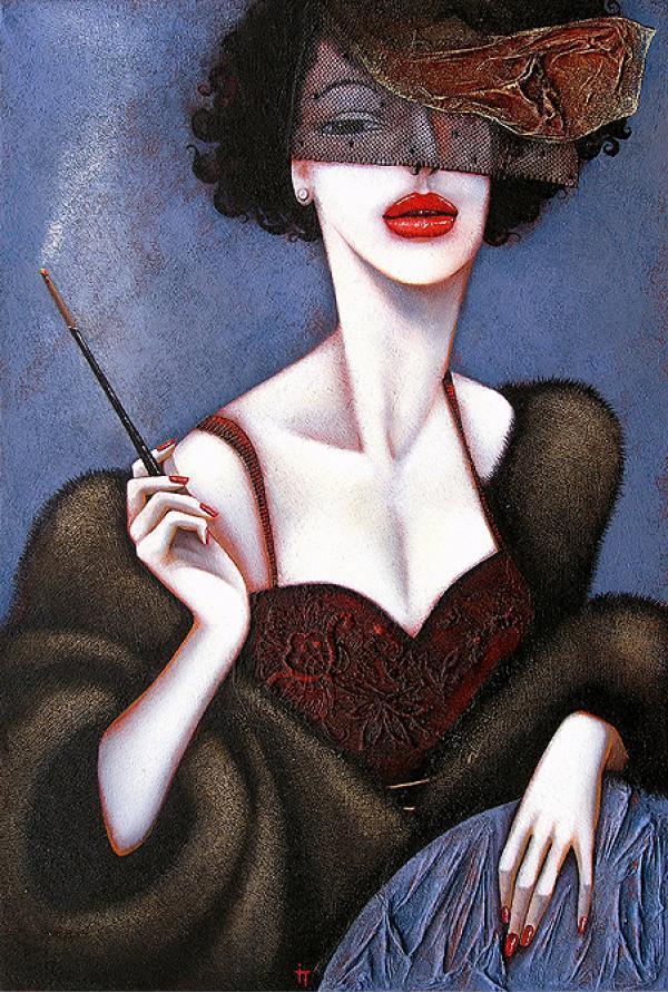 Art deco paintings .. Ira Tsantekidou.