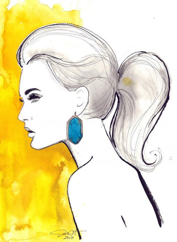 Jessica Durrant  - Fashion Illustrations by Jessica Durrant  <3 <3