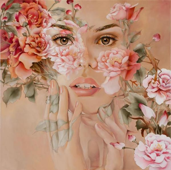 Abstract Figurative Paintings By Wendy Ng