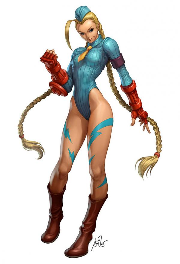 Arte Street Fighter Camomile-cammy_by_Artgerm600_879