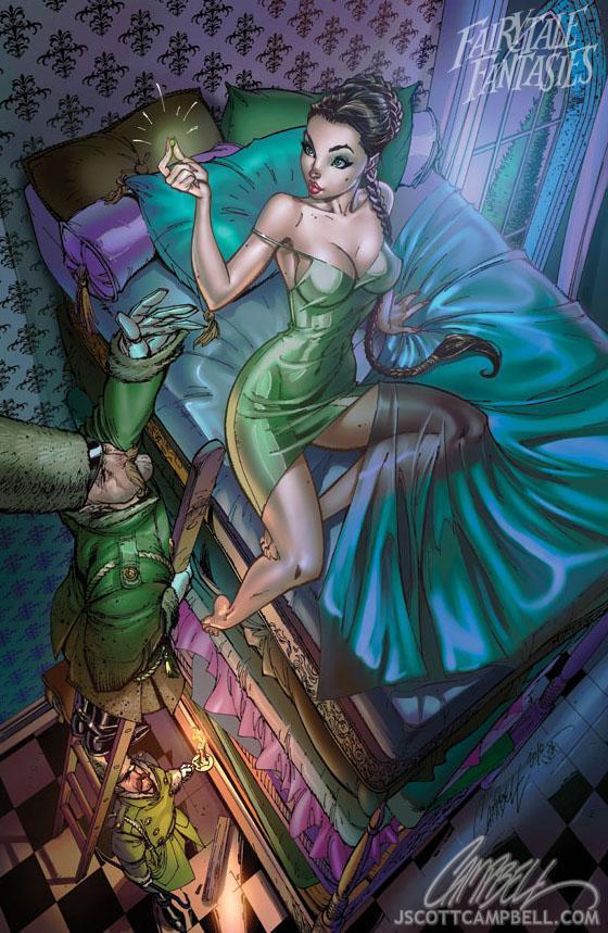 Matchless J scott campbell mermaid